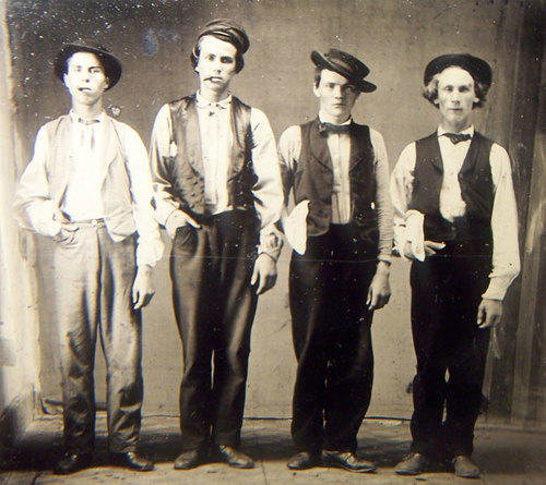 Billy the kid doc holiday jesse james charlie bowdre